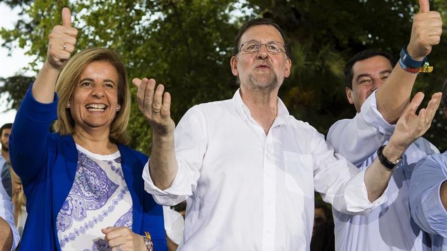 """Rajoy arremete contra Iglesias y avisa que España no puede """"jugar con fuego"""""""