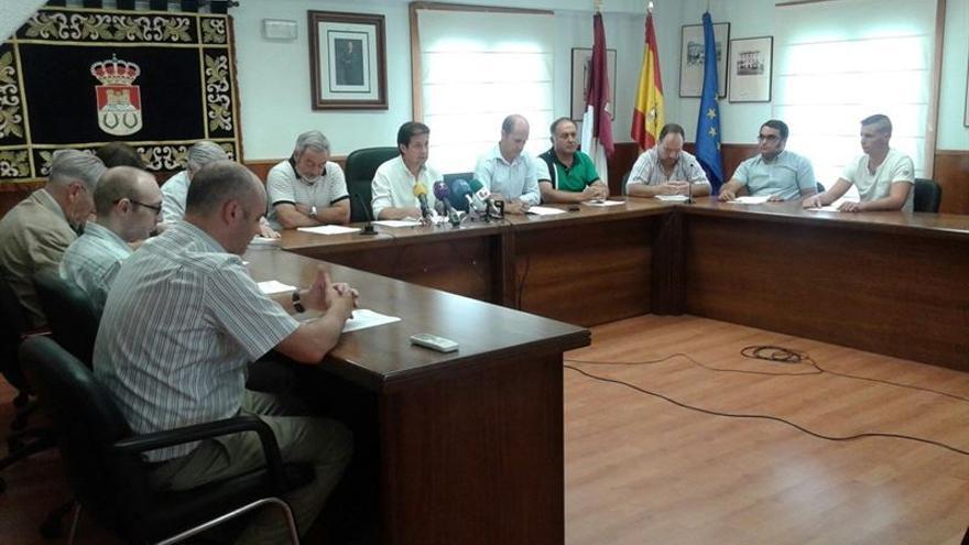 Reunión de la Asociación de Municipios Ribereños de Entrepeñas y Buendía / Foto: EP