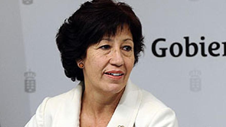 La consejera de Bienestar Social, Juventud y Vivienda del Gobierno de Canarias, Inés Rojas.