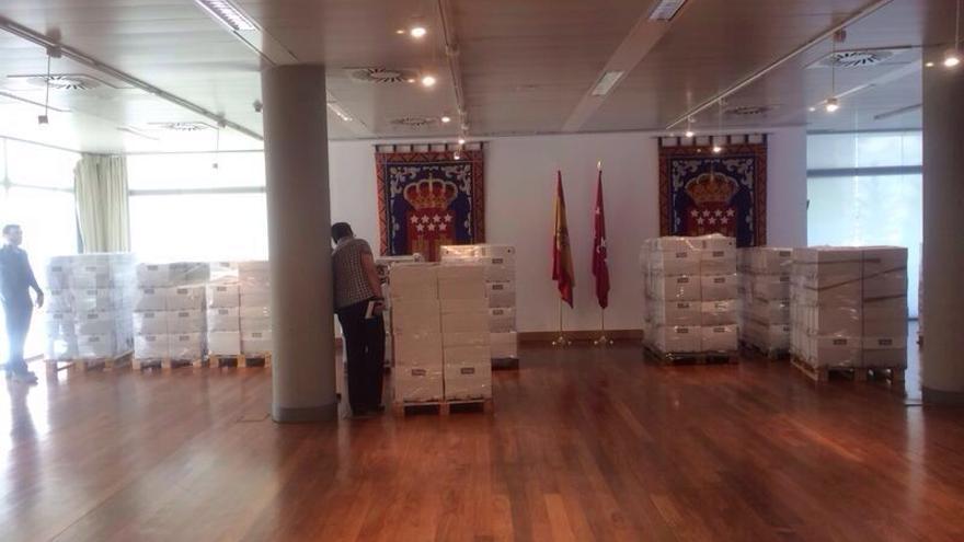 Documentación del caso Aneri remitida a la Asamblea de Madrid.