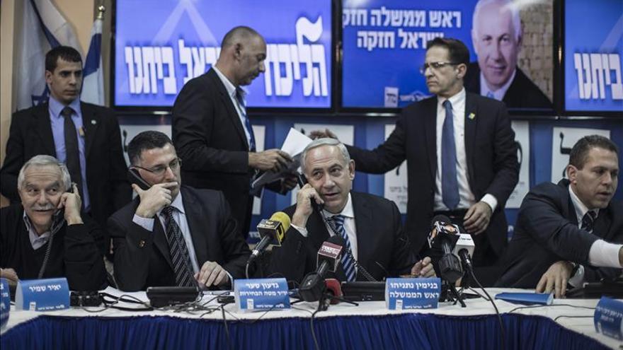 Netanyahu combate la huida de votos a su derecha en la recta final electoral