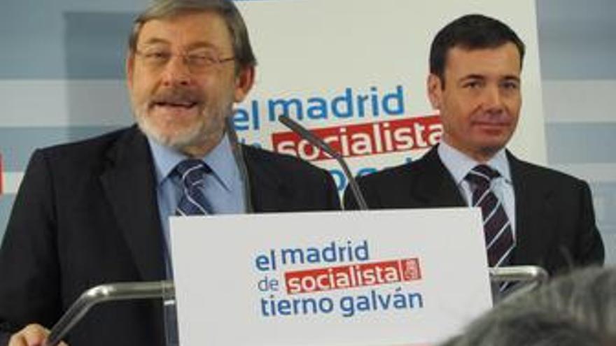 Jaime Lissavetzky y Tomás Gómez