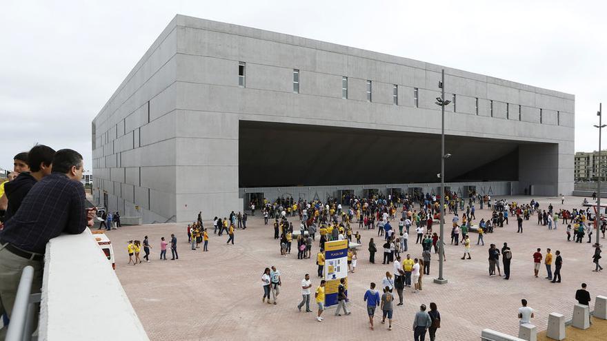 El Gran Canaria Arena el día de su primer partido. ©ACB Media