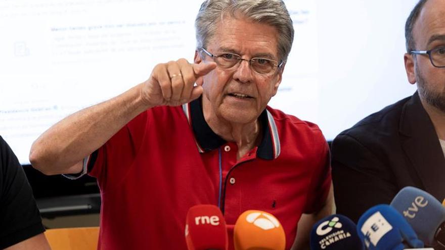 El portavoz del Gobierno de Canarias y consejero de Administraciones Públicas, Justicia y Seguridad, Julio Pérez.
