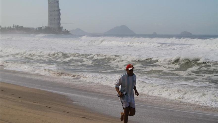 La tormenta tropical Rick propicia lluvias en el occidente de México