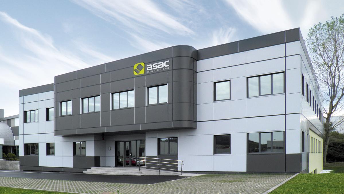 Sede de Asac Comunicaciones.