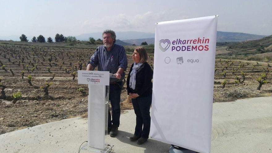 """Elkarrekin Podemos propone medidas """"sin precedentes"""" para """"paliar"""" los efectos del cambio climático"""