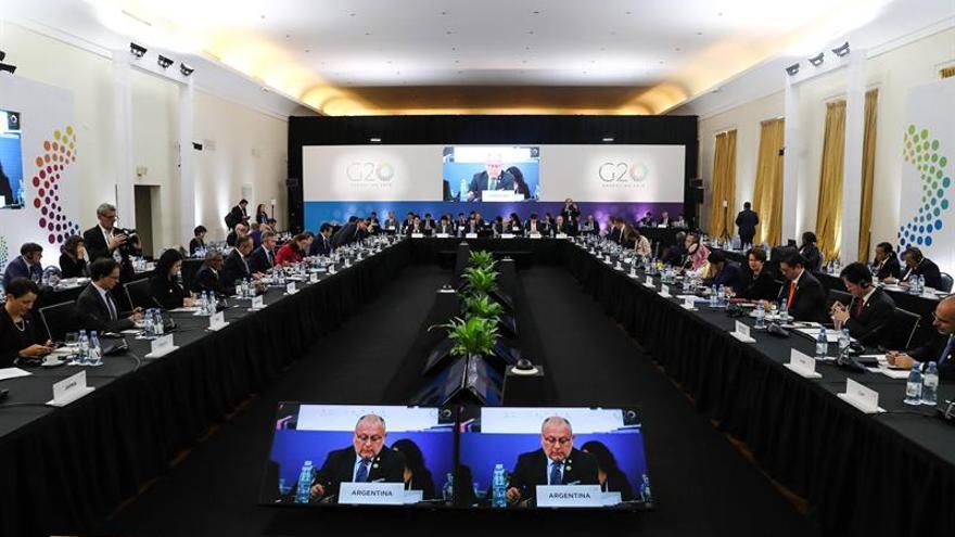 Líderes de comercio del G20 se reúnen en Argentina en medio de las tensiones globales