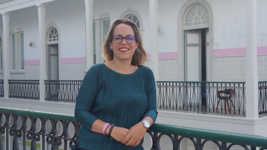 Susana Machín es consejera de Sanidad, Educación y Artesanía del Cabildo de La Palma. Foto: LUZ RODRÍGUEZ