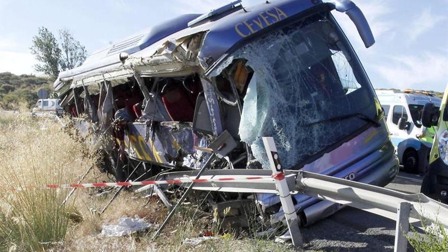 Tres años de prisión para el conductor del autocar implicado en un accidente con 9 muertos en Ávila