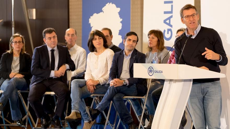 """Feijóo censura que el PSE esté en un """"posible Plan Ibarretxe II"""" y avisa de que lo usarán los independentistas catalanes"""