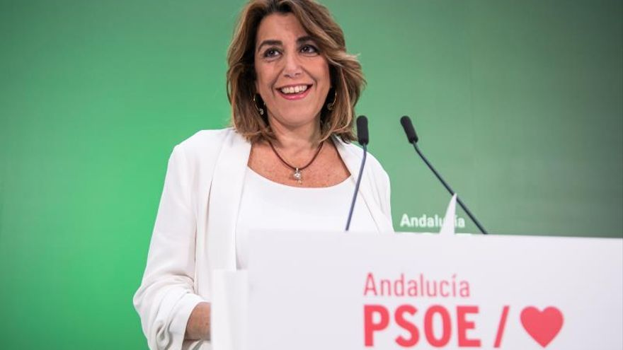 La secretaria general del PSOE-A, Susana Díaz.
