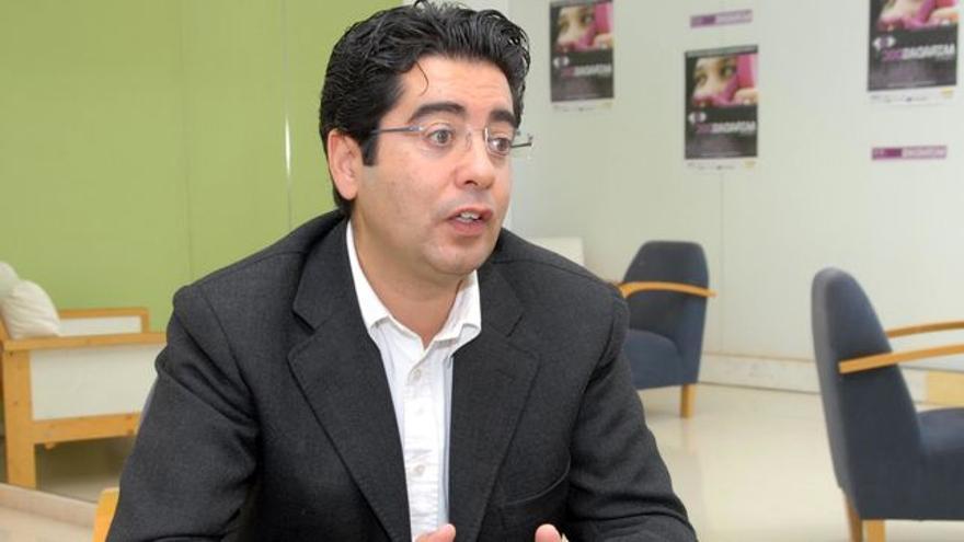 El alcalde de Guía de Isora, Pedro Martín