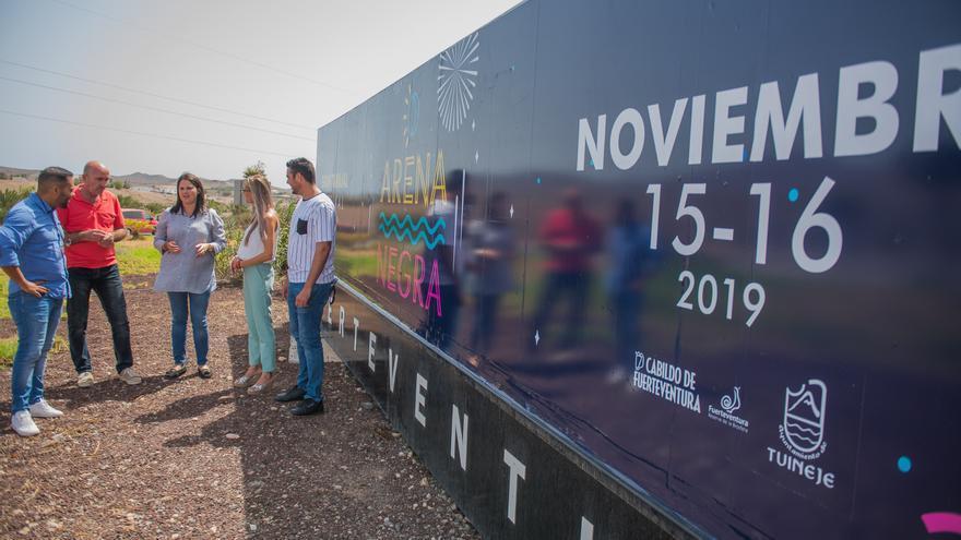 Presentación del Festival Arena Negra.