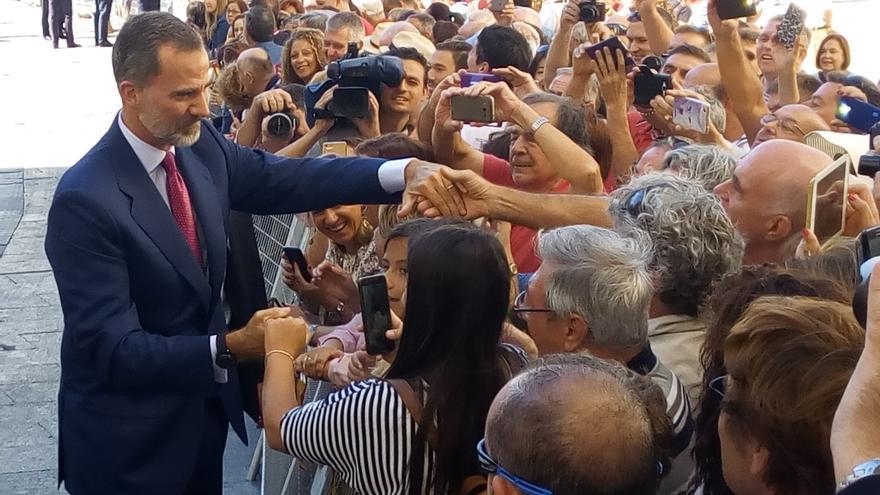 El Rey Felipe VI visita este martes el Ayuntamiento de Reinosa y la empresa Sidenor