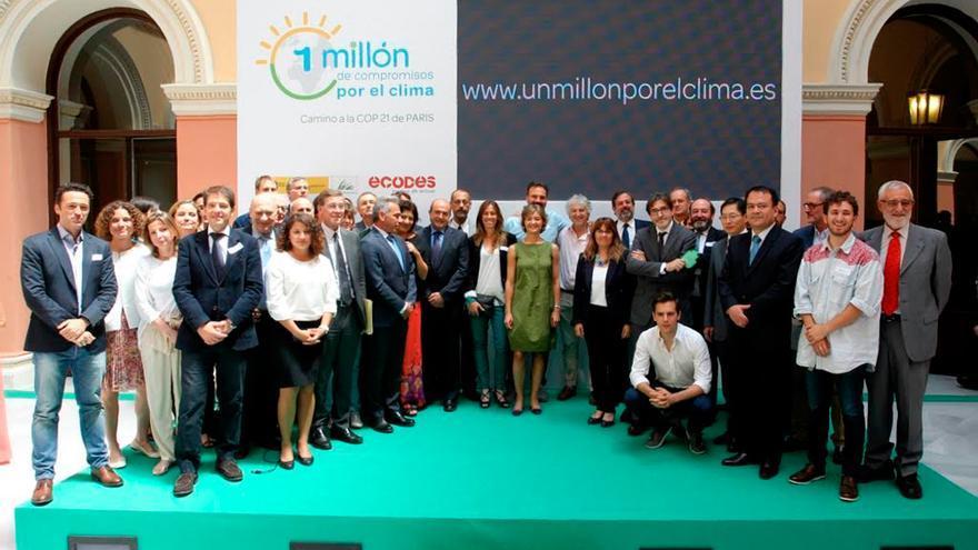 Un millón de compromisos para salvar el clima de cara a la cumbre de París @efeverde
