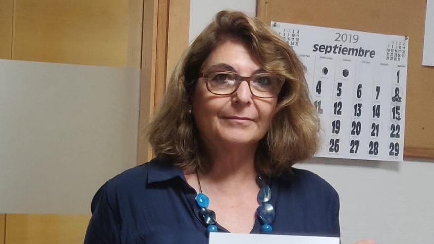 La diputada regional de Vox Isabel Campuzano