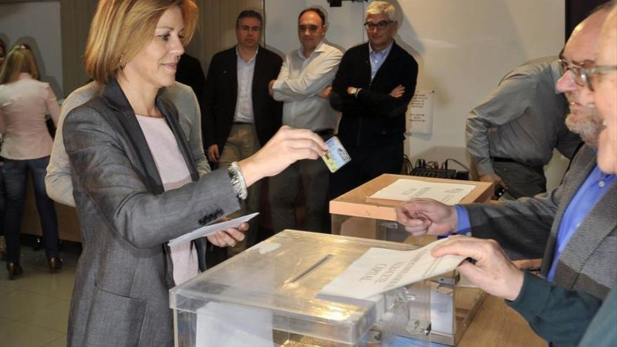Cospedal obtiene 2.694 votos y será la única candidata a presidir el PP CLM