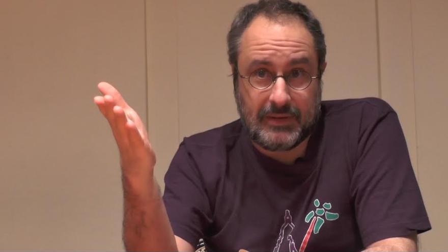 El periodista Antonio Baños.