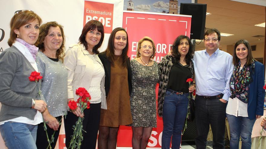 Micaela Navarro ha participado en un acto en Jerez de los Caballeros con motivo del Día de la Mujer / PSOE