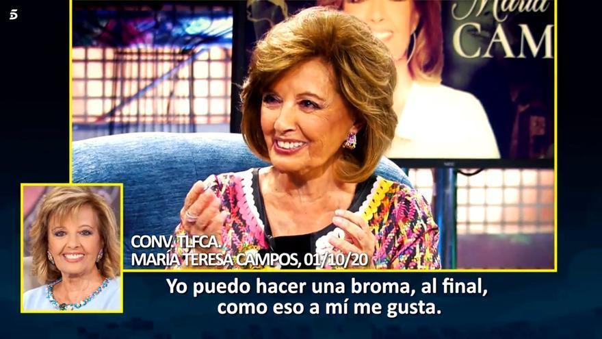 María Teresa Campos, en 'Sábado deluxe'