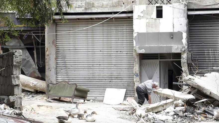 Los palestinos comparten preocupación sobre la crisis humanitaria en el campo de Yarmuk