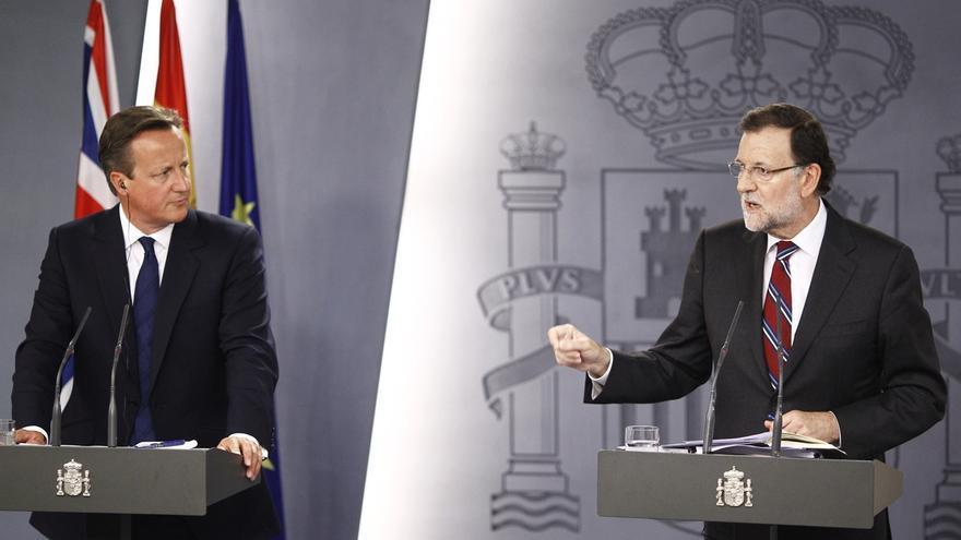Cameron advierte a Mas de que si Cataluña se independiza saldrá de la UE y se tendrá que poner a la cola