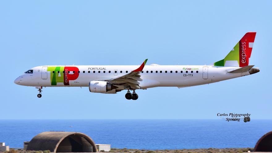 Avión de las líneas aéreas portuguesas. Foto: CARLOS PHOTOGRAPHY SPOTTING