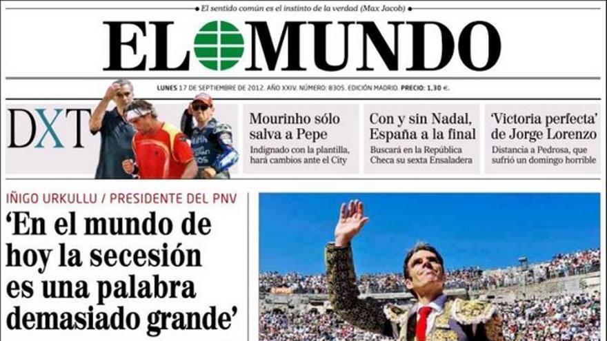 De las portadas del día (17/09/2012) #8