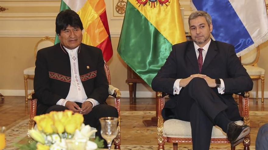 Benítez promete a Morales gestionar la incorporación plena de Bolivia al Mercosur