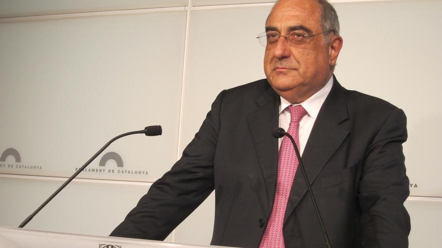 Joaquim Nadal se dio de baja del PSC un día antes del 27S