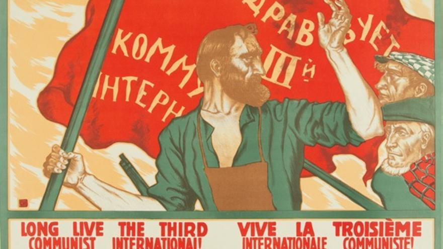 ¡Larga vida a la Tercera Internacional Comunista!   Serguéi Ivanov