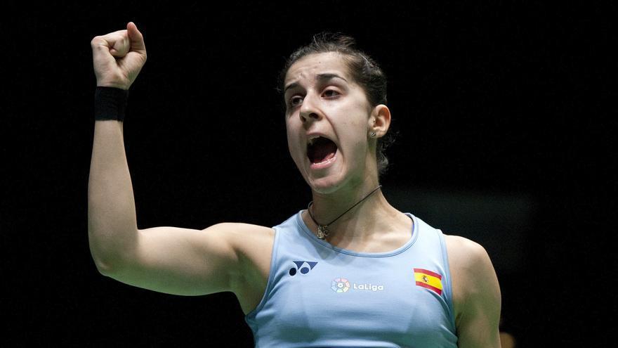 Carolina Marín se mantiene como única española en el torneo.