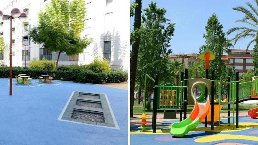 El Ayuntamiento de Paiporta compara dos proyectos ejecutados uno por el PP (57.000 euros) y otro por el actual gobierno (33.000 euros)