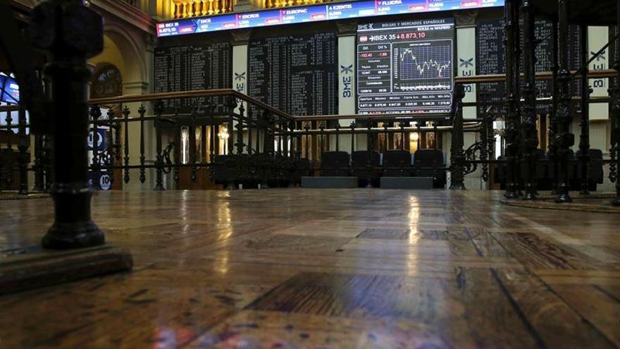 La Bolsa española abre con una subida del 0,55 %