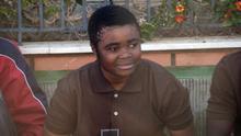 Mirelle, camerunesa de 15 años, la primera mujer en saltar la valla de Melilla