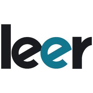 logotipo de la revista leer