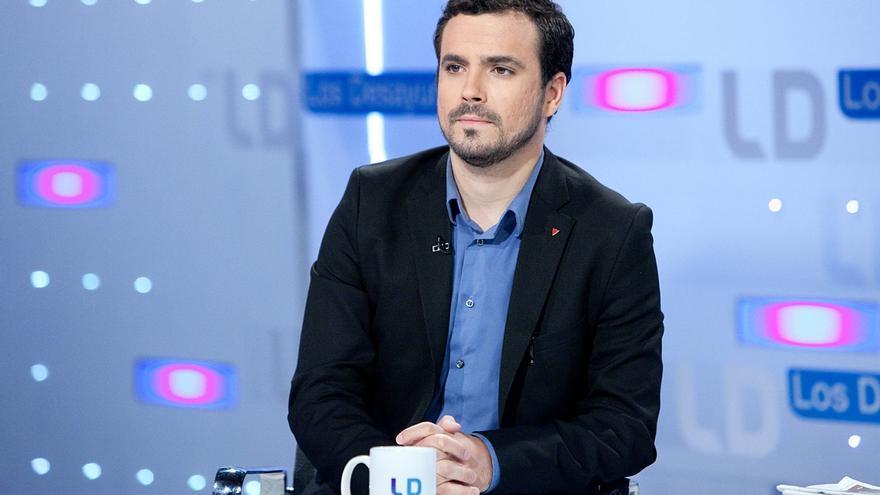 """Garzón cree que García será """"coherente"""" tras la imputación de García (IU) en la operación Enredadera"""