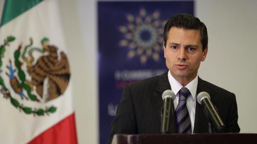 Peña Nieto expresa su voluntad de apoyar el proceso de actualización económica de Cuba