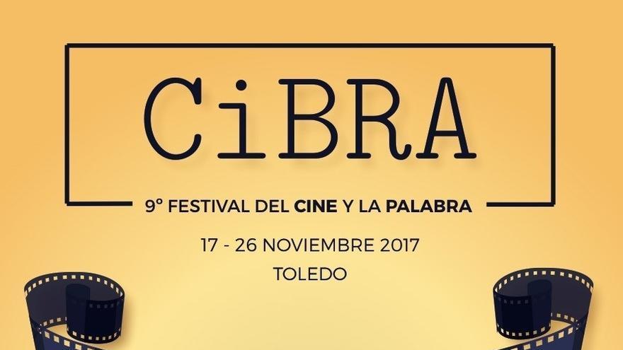 Cartel del Festival del Cine y la Palabra CiBRA 2017