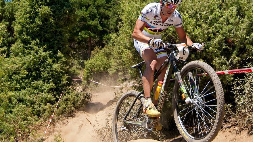 José Antonio Hermida, uno de los mejores ciclistas de MBT del mundo.