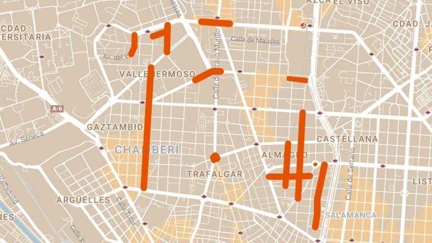 Calles de Chamberí que serán arregladas durante la Operación Asfalto 2018 | SOMOS CHAMBERÍ