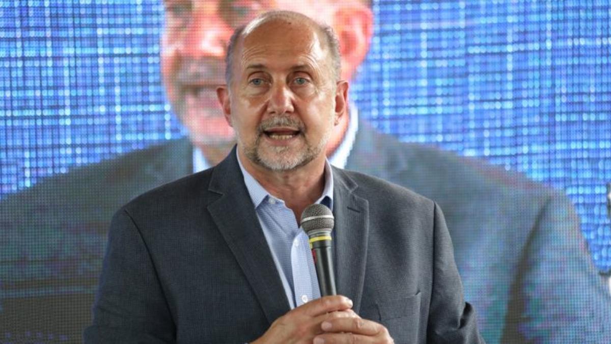 El gobernador de Santa Fe, Omar Perotti