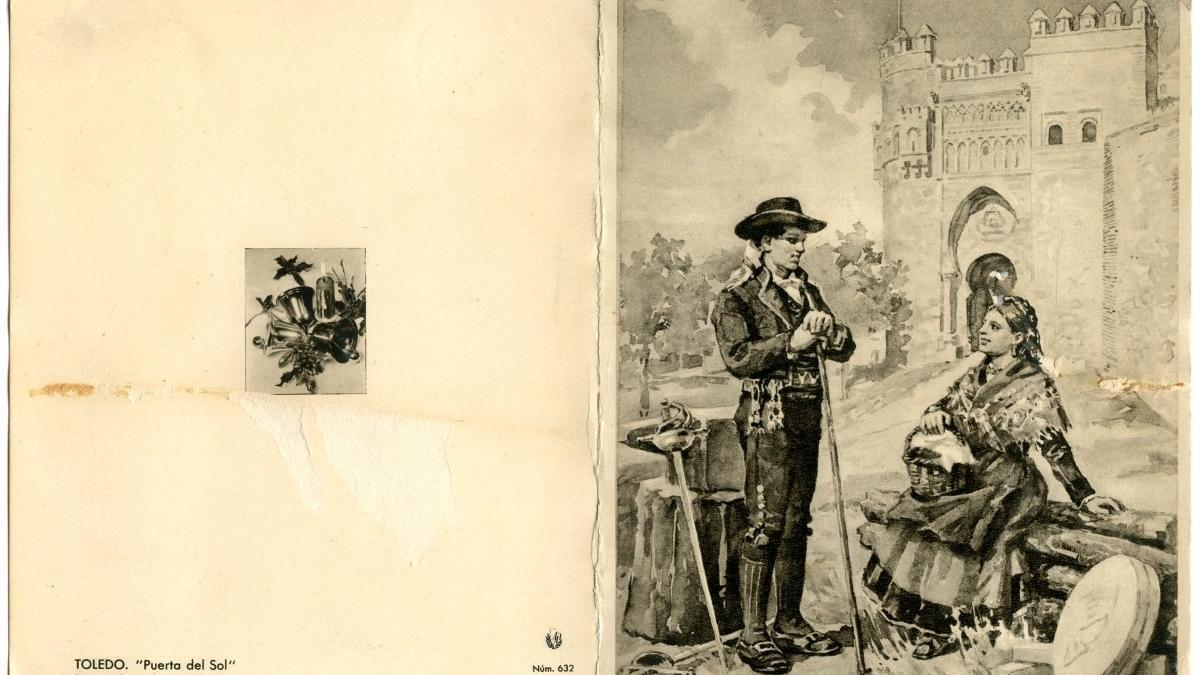 Una de las postales de la nueva exposición virtual del Archivo Municipal