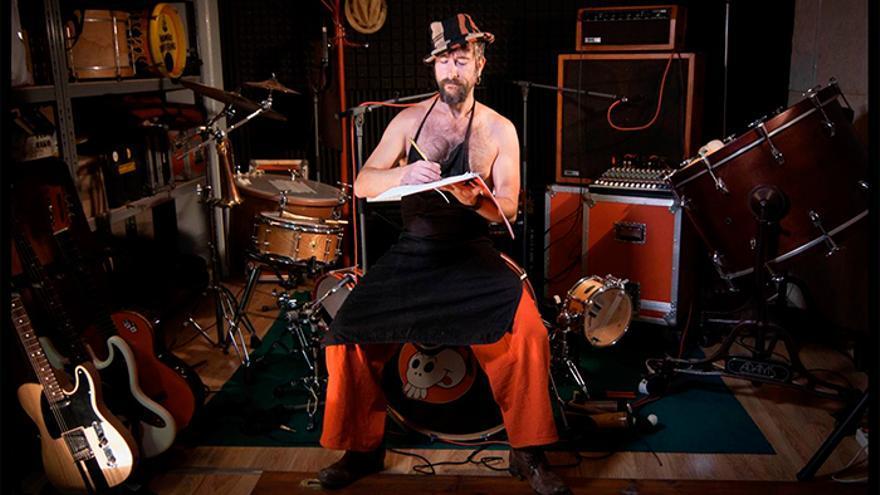 El próximo disco de estudio de Muchachito se titulará 'La Maqueta'. | NACHO LARUMBE