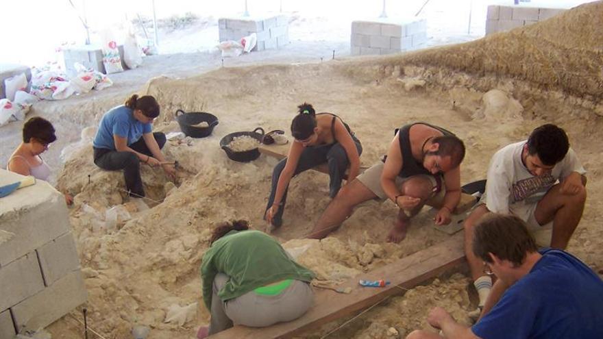 Hallan en Orce restos de actividad humana datados hace 1,4 millones de años