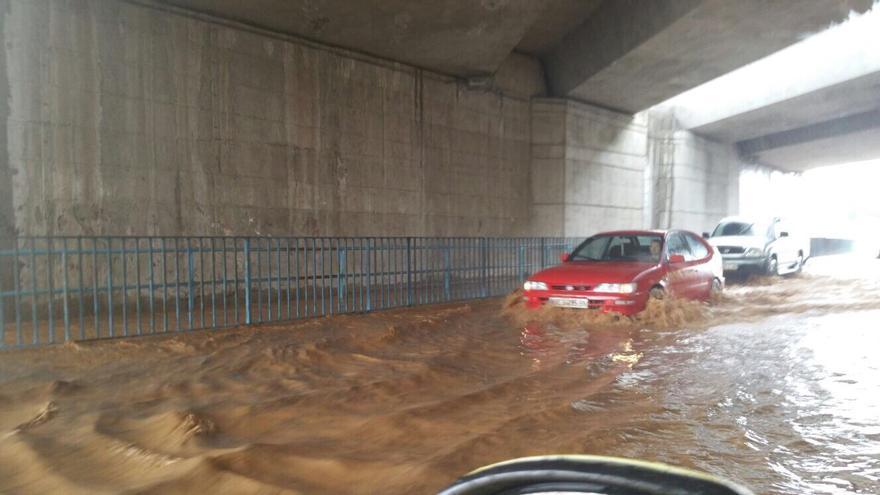 Lluvia en El Carrizal