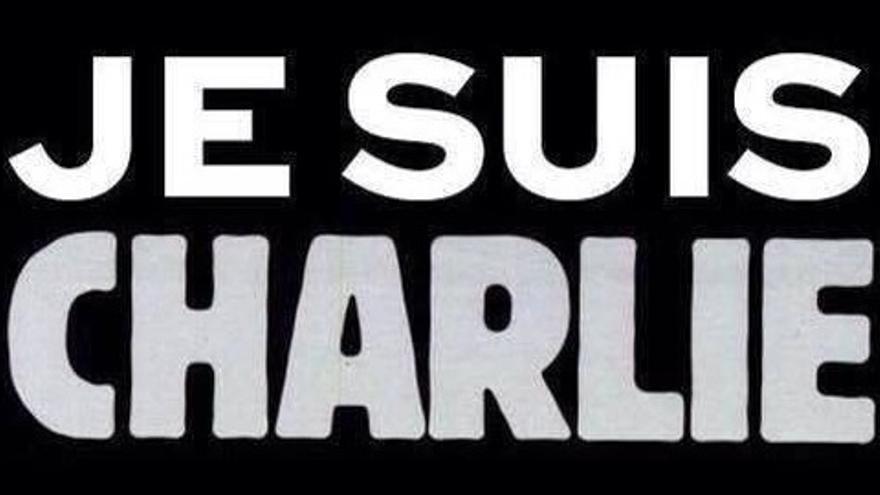 """""""Yo soy Charlie"""", el mensaje extendido desde Francia a través de las redes sociales."""