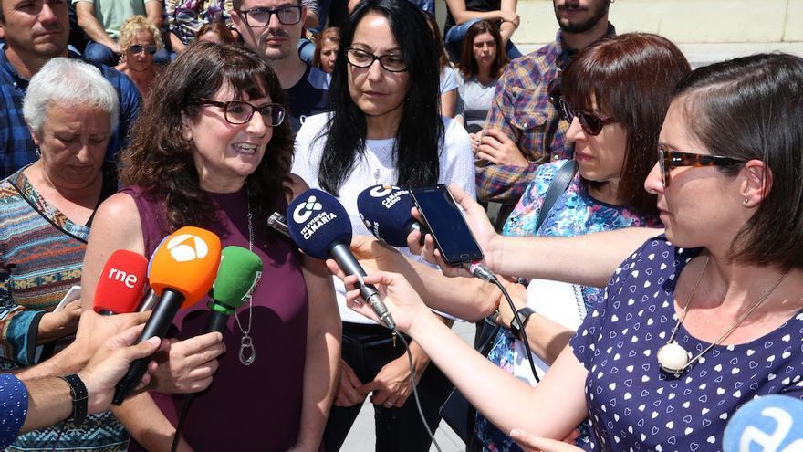 Conchi Monzón es candidata a la Secretaría General de Podemos en Canarias.