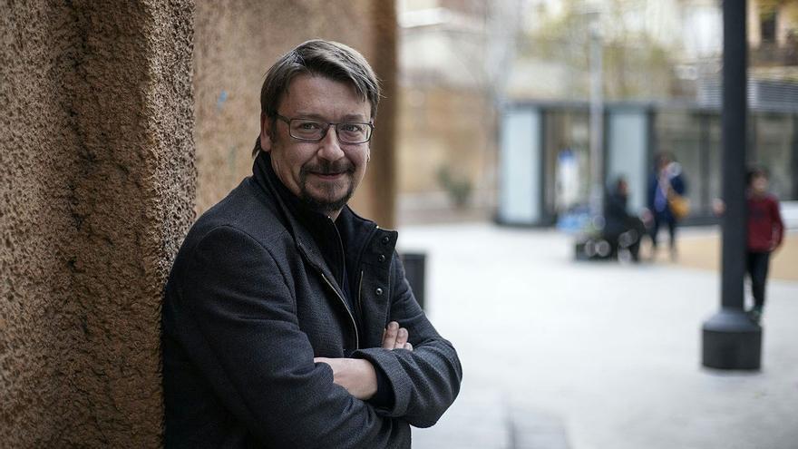 Xavier Domènech, en Barcelona.